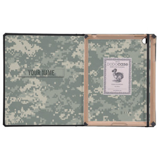 Army ACU Camouflage Customizable iPad Cases