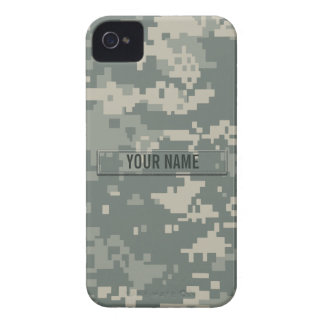 Army ACU Camouflage Customizable iPhone 4 Case-Mate Case