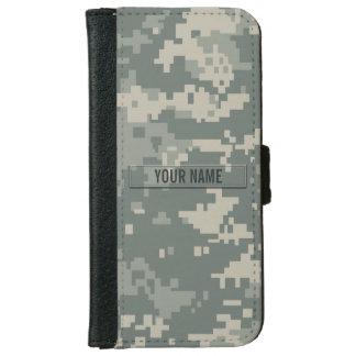 Army ACU Camouflage Customizable iPhone 6/6s Wallet Case