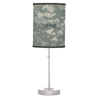 Army ACU Camouflage Customizable Table Lamps