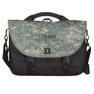 Army ACU Camouflage Customizable Commuter Bag