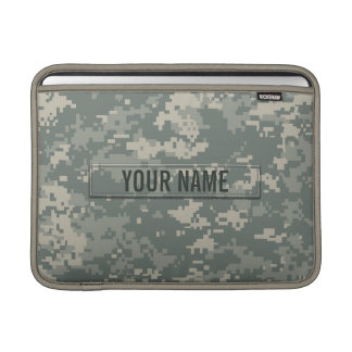 Army ACU Camouflage Customizable MacBook Sleeve