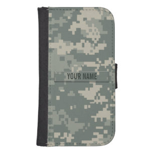 Army ACU Camouflage Customizable Phone Wallet