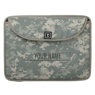 Army ACU Camouflage Customizable Sleeve For MacBook Pro