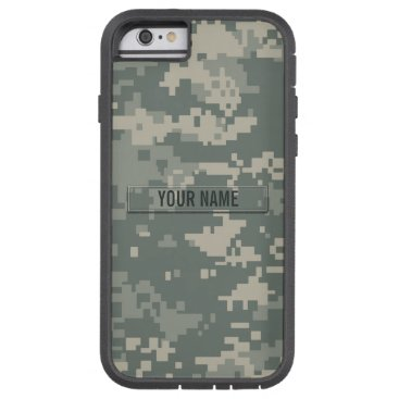 staticnoise Army ACU Camouflage Customizable Tough Xtreme iPhone 6 Case
