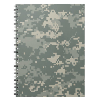 Army ACU Camouflage Spiral Notebook