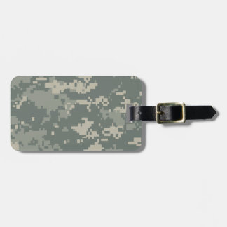 Army ACU Camouflage Travel Bag Tags