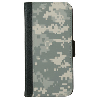 Army ACU Camouflage Wallet Phone Case For iPhone 6/6s