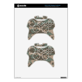 Army ACU Camouflage Xbox 360 Controller Decal