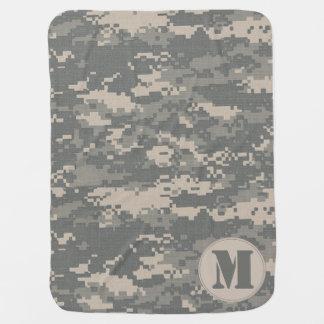 ARMY ACU Digital Camo Camouflage Baby Blanket