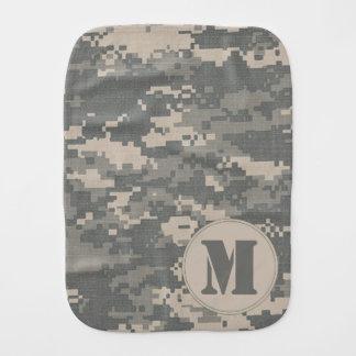 ARMY ACU Digital Camo Camouflage Burp Cloth