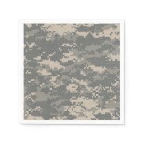 ARMY ACU Digital Camo Camouflage Pattern Napkins
