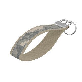 ARMY ACU Digital Camo Camouflage Wrist Key Chain
