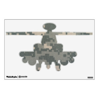 Army ACU Helicopter Wall Decal