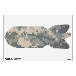 Army ACU Missile Bomb Wall Decal