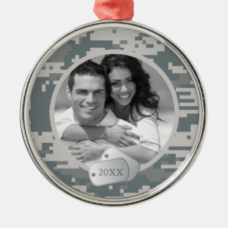 Army ACUs and Dog Tags Christmas Ornaments