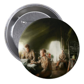 Army - Administration 3 Inch Round Button