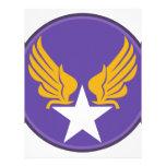 Army AF HQ Variation Customized Letterhead