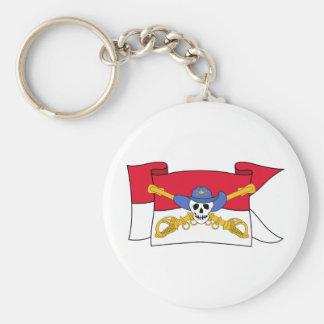 Army Air Cav Flag Keychain