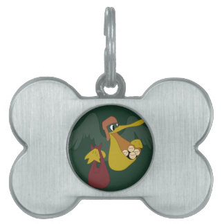 ARMY AIR CORPS 25th Troop Carrier Squadron Pet Tags