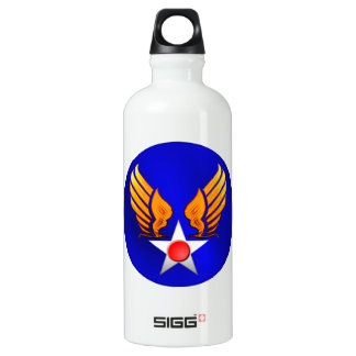 Army Air Corps Aluminum Water Bottle