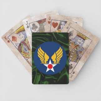 Army Air Corps Bicycle Playing Cards