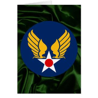Army Air Corps Card