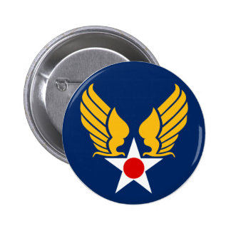 Army Air Corps Pinback Button