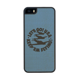 Army Air Corps Poster, 1941 Carved® Maple iPhone 5 Case