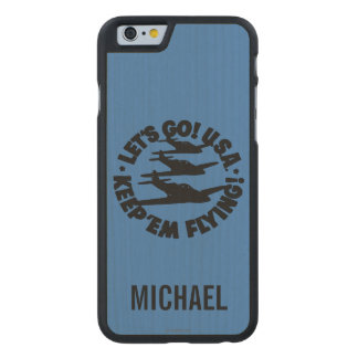 Army Air Corps Poster, 1941 Carved® Maple iPhone 6 Slim Case