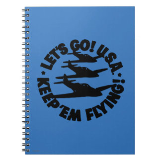 Army Air Corps Poster, 1941 Spiral Notebook