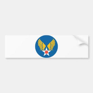 Army Air Corps Shield Car Bumper Sticker