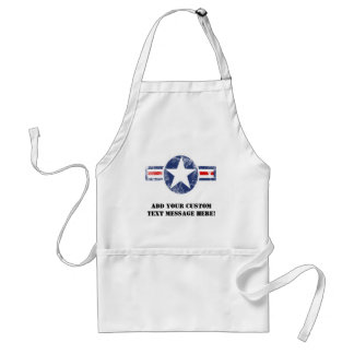 Army Air Corps Vintage Adult Apron