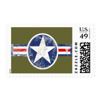 Army Air Corps Vintage Postage Stamp