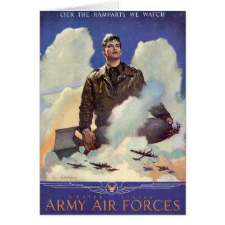Army Air Forces Card