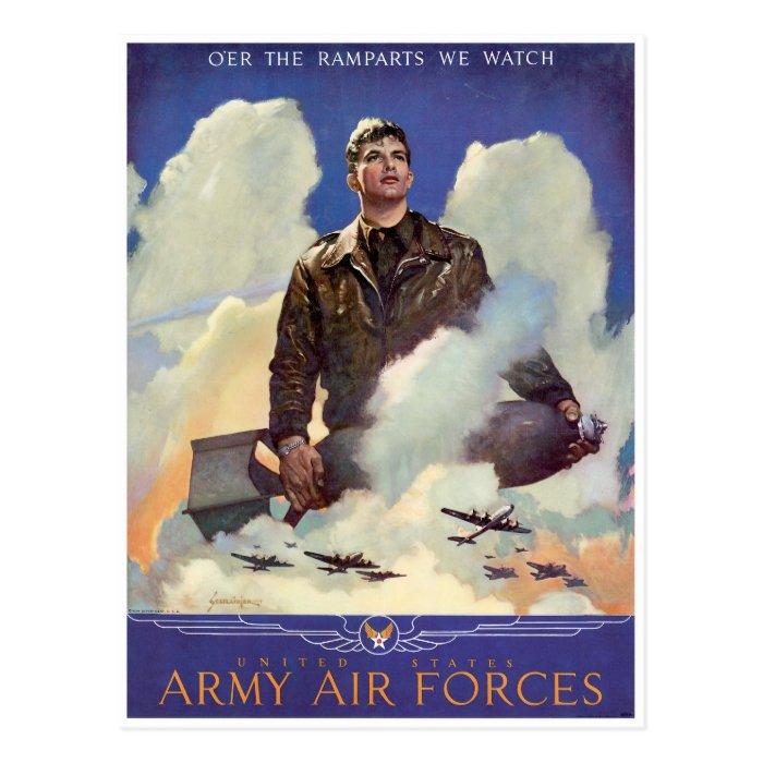 Army Air Forces Postcard
