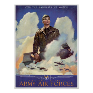 Army Air Forces Poster