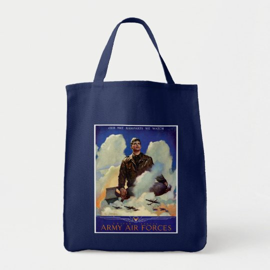 Army Air Forces Tote Bag