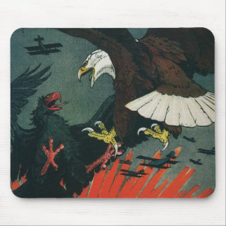 Army Air Service Vintage WWI Poster Mouse Pad