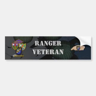 army airborne ranger veterans bumper sticker