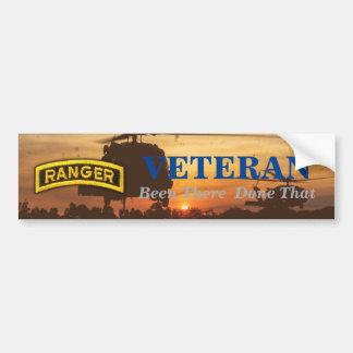 army airborne ranger veterans vets lrrps recon bumper sticker