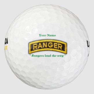Army Airborne Rangers Fort Benning Veterans tab Golf Balls