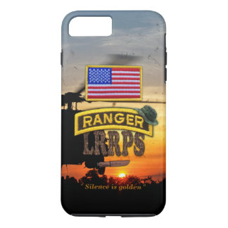 Army airborne rangers LRRPS veterans vets tab iPhone 7 Plus Case