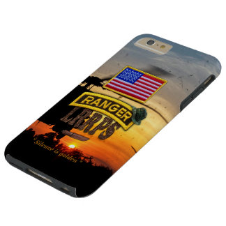 Army airborne rangers LRRPS veterans vets tab Tough iPhone 6 Plus Case
