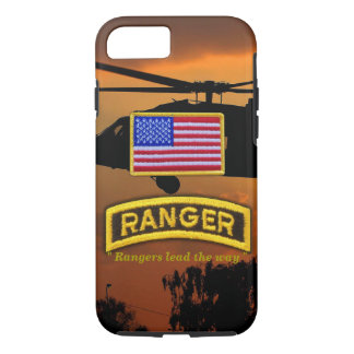 Army airborne rangers veterans vets tab iPhone 7 case