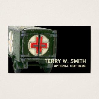 Army Ambulance Business Card