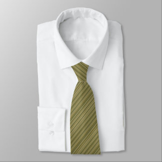 Army angle wise Stripes pattern Neck Tie