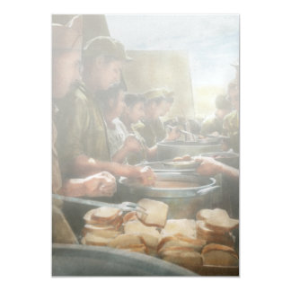 Army - Another potato please 5x7 Paper Invitation Card