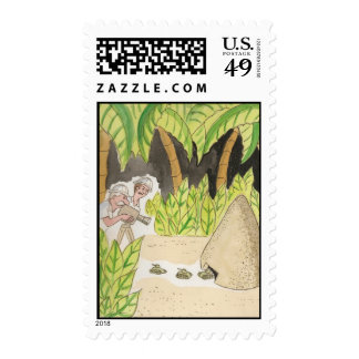 Army Ant Postage Stamp