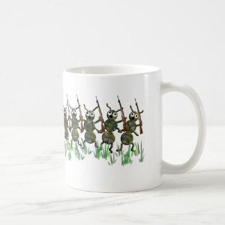 army ants coffee mug